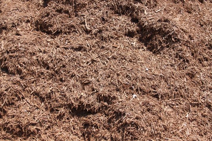 Shredded Cedar Landscape Mulch in Novi