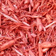 Eco Safe Red Landscaping Mulch in Novi