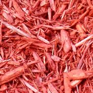 Eco Safe Red Landscaping Mulch in Novi