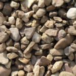 Walnut Pebbles Stone in Novi
