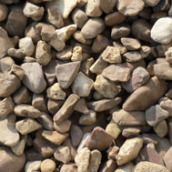 Walnut Pebbles Stone in Novi